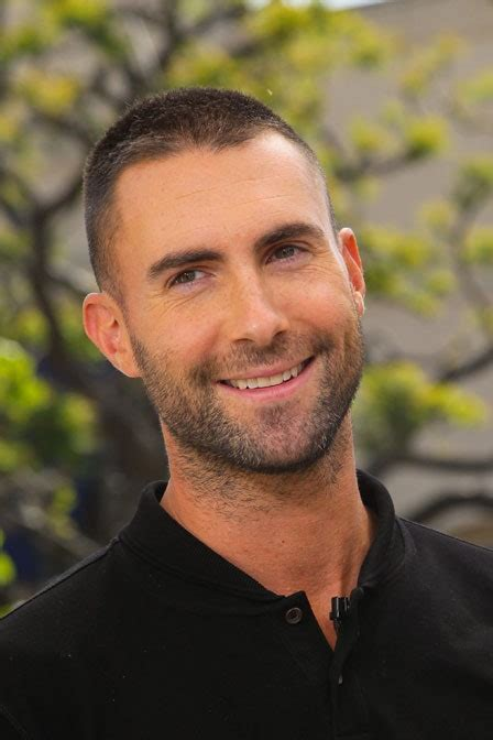 Can We Talk About Adam Levine S New Super Short Haircut