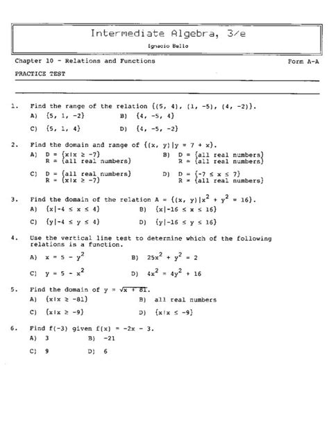 8th grade math functions worksheets math for 8th