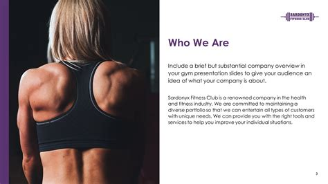 gym premium powerpoint template fitness  themes