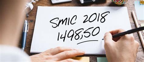 le smic mensuel brut en hausse de 18 en 2018 europ 233 enne de conseil