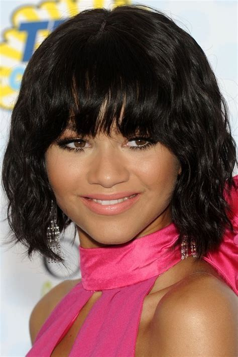 Hairstyles For Black With Hair by 20 Black Hairstyles With Bangs Oozing Mismatched Chic