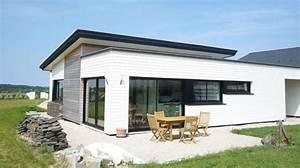decouvrez nos realisations maison ossature bois bretagne With maison de la fenetre 3 construction maison bois finistere