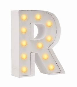 DIY letter light R - HEMA