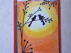 beautiful drawing for children in simple steps(oil pastel ...
