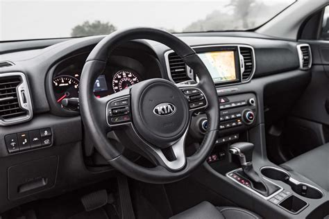 kia sportage 2017 interior 2017 kia sportage shows its interior ahead of frankfurt