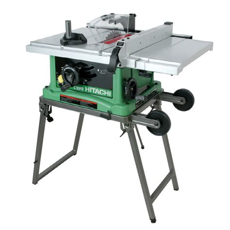 lowes portable table saw shop hitachi 15 amp 10 quot table saw at lowes com