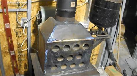 build  homemade hybrid waste oil  wood garage
