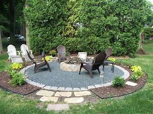 48, Round, Firepit, Area, Decor, Ideas, For, Winter