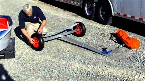 Fold Up Boat Trailer Plans by Optistuff Pro Racer Transportable Dolly