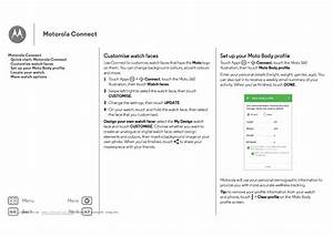 Motorola Moto 360 User Guide Page 6