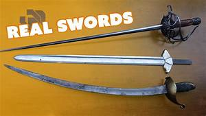 Prop Swords Vs Real Swords With Chris Menges