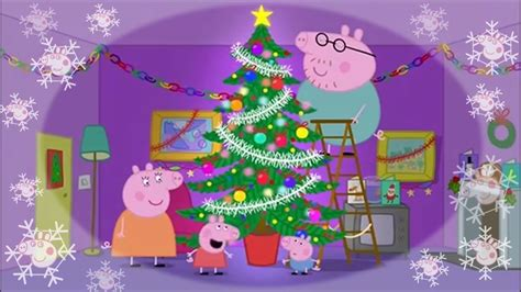 collection  peppa pig christmas tree christmas