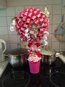 Süßigkeiten Baum Selber Machen : mon cheri baum ideen rund ums haus pinterest geburtstagsgeschenke geschenkideen und ~ Orissabook.com Haus und Dekorationen