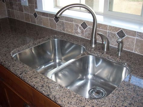 kitchen sink materials compared best material for kitchen sink homesfeed
