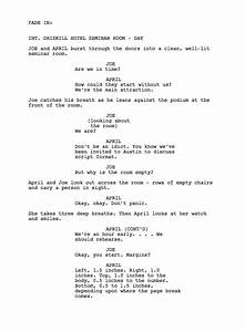 script writing examples script writing examples how to With free movie script template