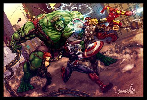 The Avengers By Emmshin On Deviantart