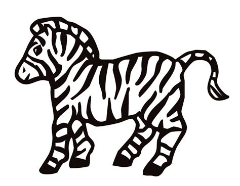 zebra coloring pages coloring pages  print