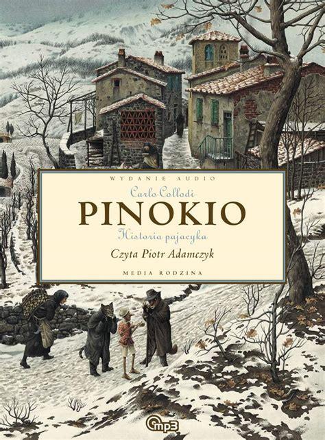 Kolorowanie pozwala ćwiczyć małe paluszki przygotowując je do nauki pisania. Pinokio - Carlo Collodi - audiobook - virtualo.pl