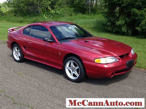 1998 Ford Mustang Cobra For Sale