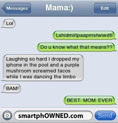 hilarious funny texts  messages clean dunk