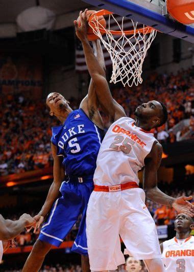 Duke Syracuse Basketball Game