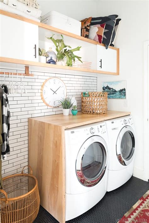 Laundry Room Makeover Reveal • Vintage Revivals