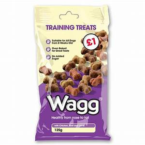 Wagg Foods Ltd Dog Training Treats 125gm | Feedem