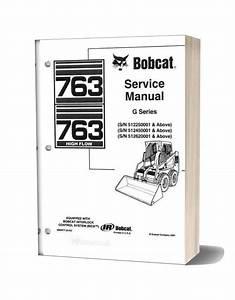 Bobcat 763 Service Manual