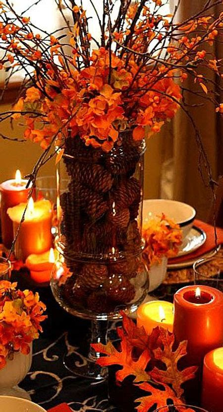 how to decorate a table for fall 20 welcoming fall table decoration ideas