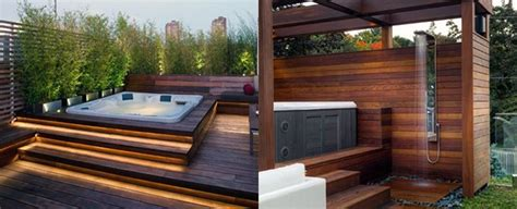 Tub On Deck by Top 80 Best Tub Deck Ideas Relaxing Backyard Designs