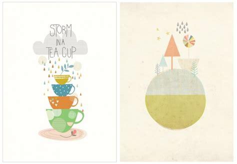 affiche pour cuisine les affiches scandinaves pour enfant de papermoon joli place