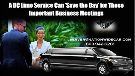 A Limo For A Day by A Dc Limo Service Can Save The Day For Those Important