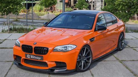 tuner  built  bright orange bhp bmw  top gear