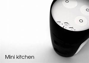 Mini Kitchen Compact Quotall In Onequot Concept For Small Spaces