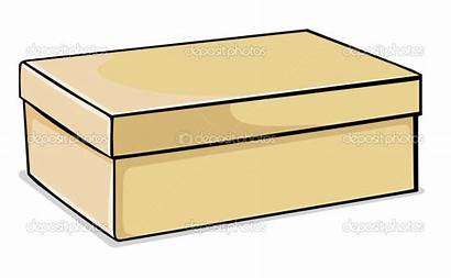 Box Clipart Shoe Closed Lid Vector Clipartmag