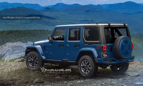 2018 Jeep Wrangler Looks Ready To Rock In Latest