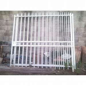 Portail De Jardin : portail de jardin fer forg 4m x 2m achat et vente rakuten ~ Melissatoandfro.com Idées de Décoration