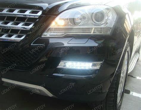 mercedes ml w164 led lights running daytime ml350 light class 2009 oem xenon ml550 power drl ijdmtoy benz ml63 ml450