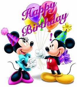 Happy Birthday Mickey Mouse : mickey and minnie happy birthday quote pictures photos and images for facebook tumblr ~ Buech-reservation.com Haus und Dekorationen