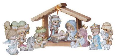 precious moments nativity set ebay