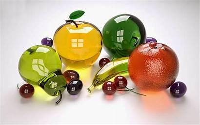 Fruits Glass 3d Desktop Fruit Wallpapers Cool