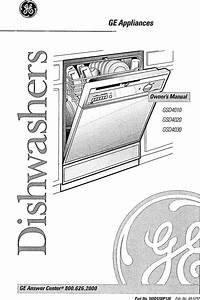 Ge Dishwasher Manual L0809030