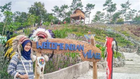 berwisata ala suku indian  kampung indian kediri viva