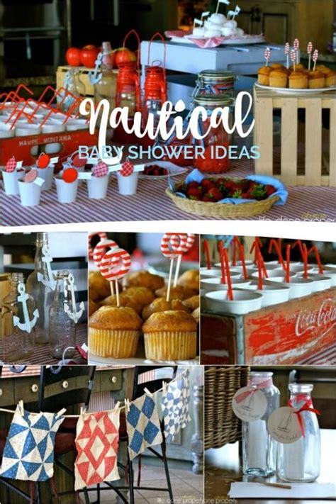 nautical baby shower food ideas a nautical baby shower spaceships and laser beams