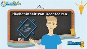 Mathe Flächeninhalt Berechnen : fl cheninhalt von rechtecken berechnen klasse 5 wissen youtube ~ Themetempest.com Abrechnung
