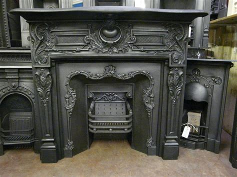 Victorian Fireplace Surround by Victorian Cast Iron Fire Surround 008cs Old Fireplaces