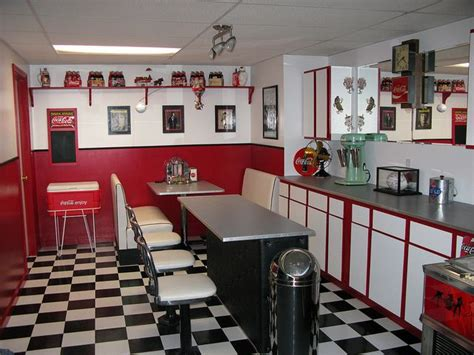 Decorating Ideas Kitchen Diner by Basement 001 In 2019 For The Home 50s Diner Kitchen