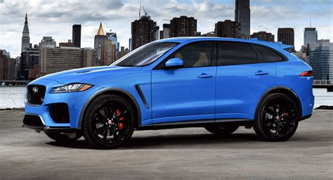 2019 Jaguar Fpace Svr Packs A 542hp Supercharged V8
