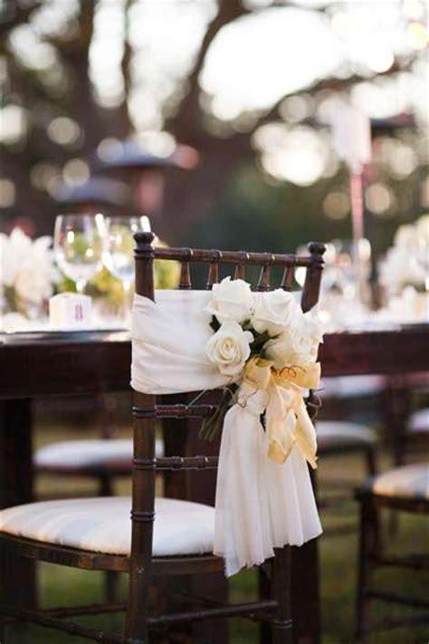 10 chouettes id 233 es pour d 233 corer vos chaises de mariage