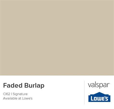 faded burlap from valspar paint colors i